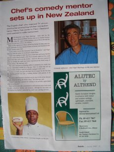 <b>Hospitality Magazine article </b>